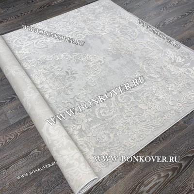 Ковер Турция New Для Гостиной Дизайн 03 Светло-Серый
