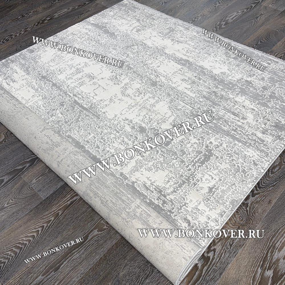 Ковер Турция New Для Гостиной Дизайн 05 Серый