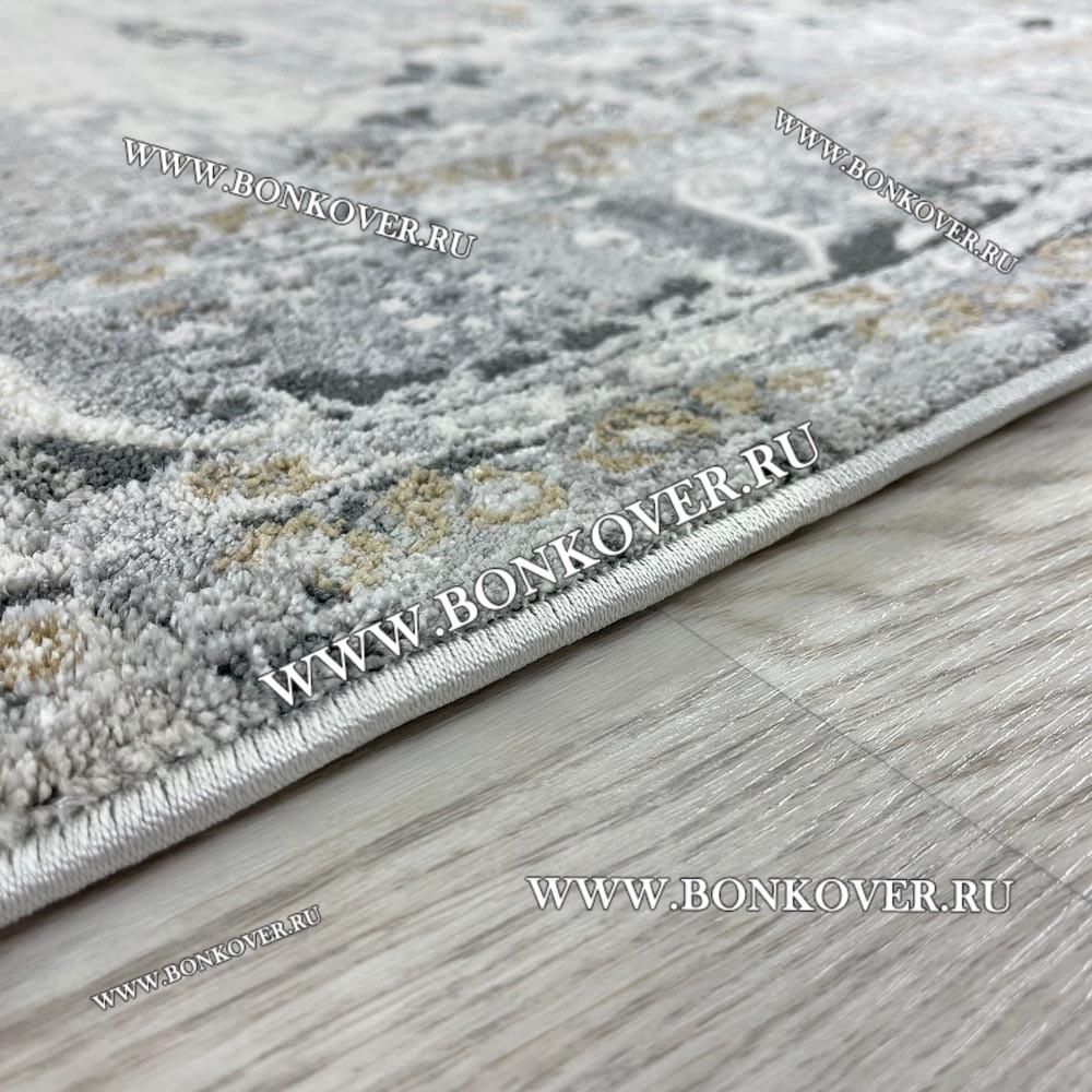 Современный Турецкий Ковер Лофт Серый Дизайн 34