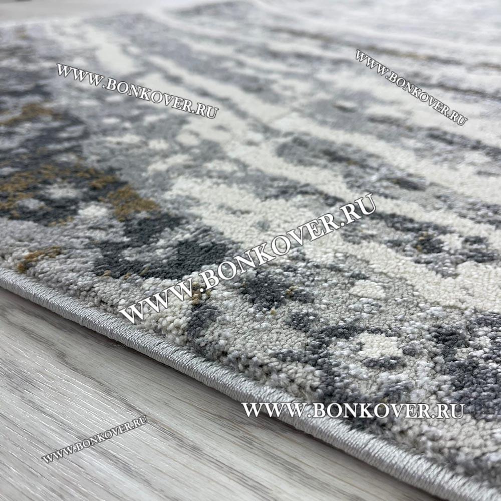 Современный Турецкий Ковер Лофт Серый Дизайн 35