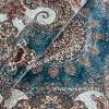 Иранский ковер дизайн 22 Синий Прямоугольный
