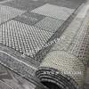 Безворсовый ковер Циновка Дизайн 04 Серый Прямоугольный