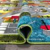 Детский Ковер Город 01 Разноцветный
