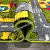 Детский Ковер Город 02 Зеленый