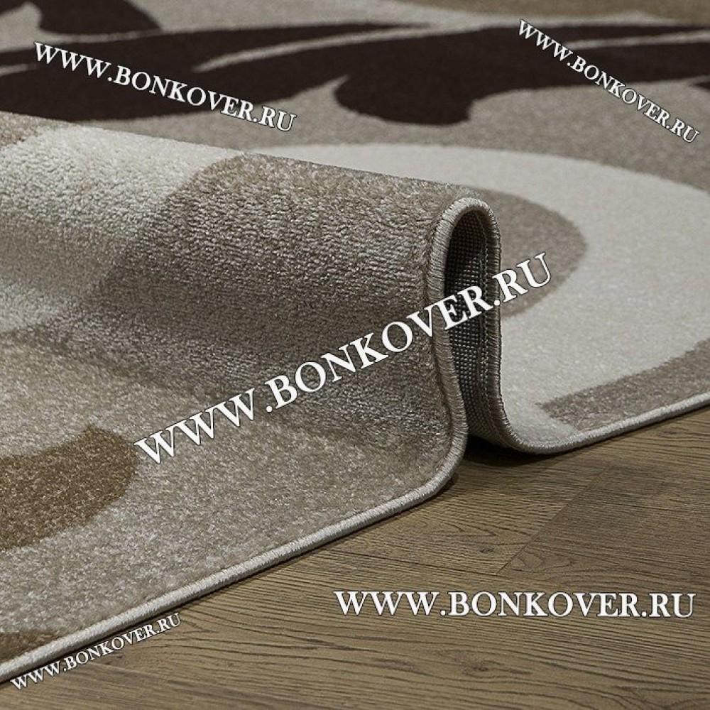 Ковер Карпет Рисунок 01 Бежево-коричневый Прямоугольный
