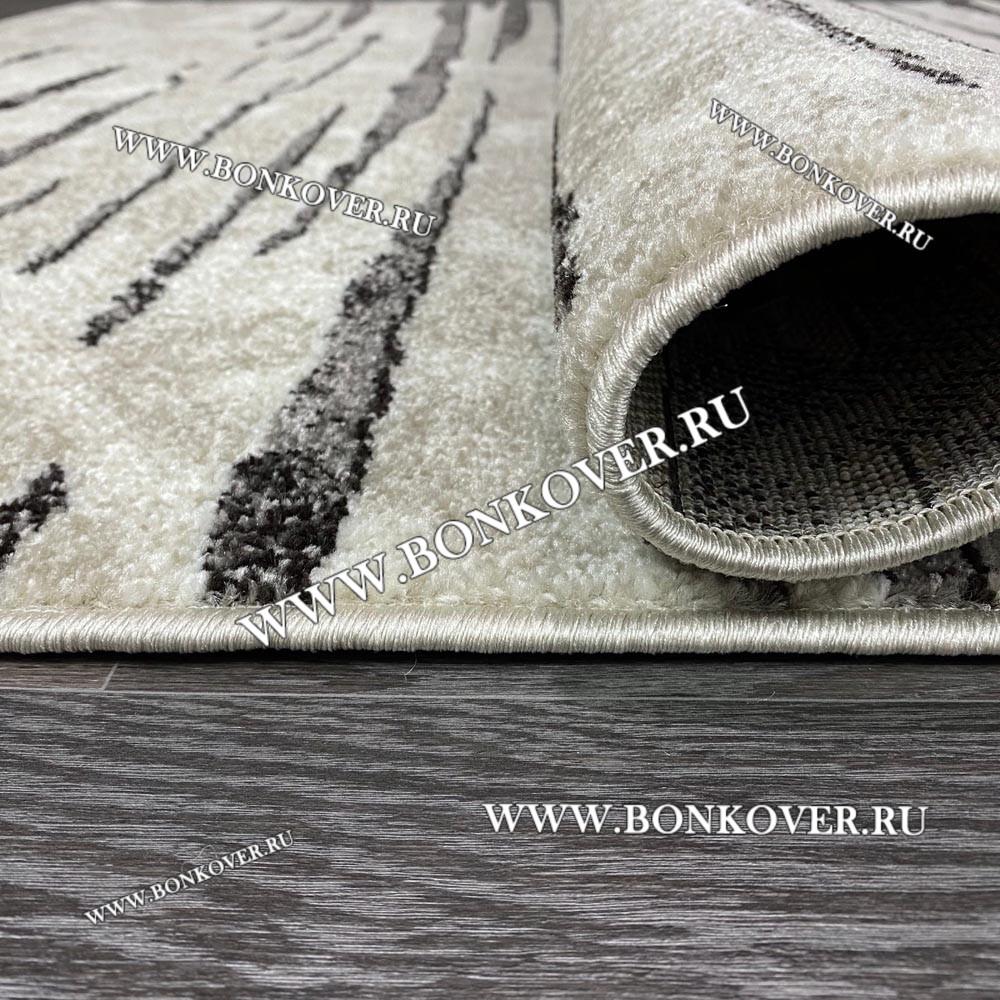 Ковер Карпет Рисунок 17 Серый Прямоугольный