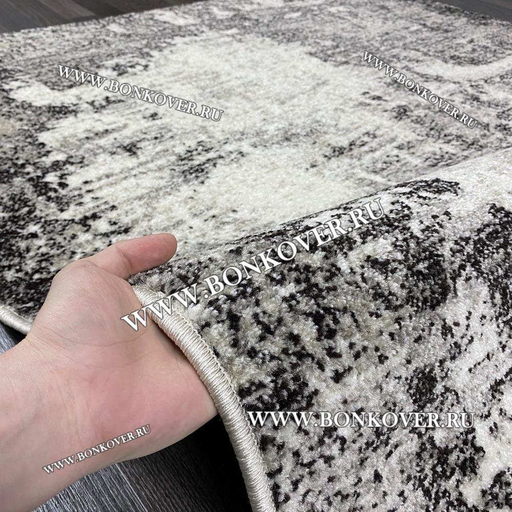 Ковер Карпет Рисунок 22 Абстракция Серый Прямоугольный