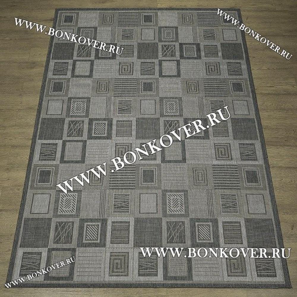 Безворсовый Ковер Дизайн 11 Серый Прямоугольный