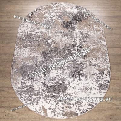 Ковер Лофт Grey Brown 03 Овал