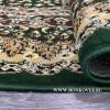 Ковер Лайт Карпет New 3 Дизайн 37 Зеленый Овальный