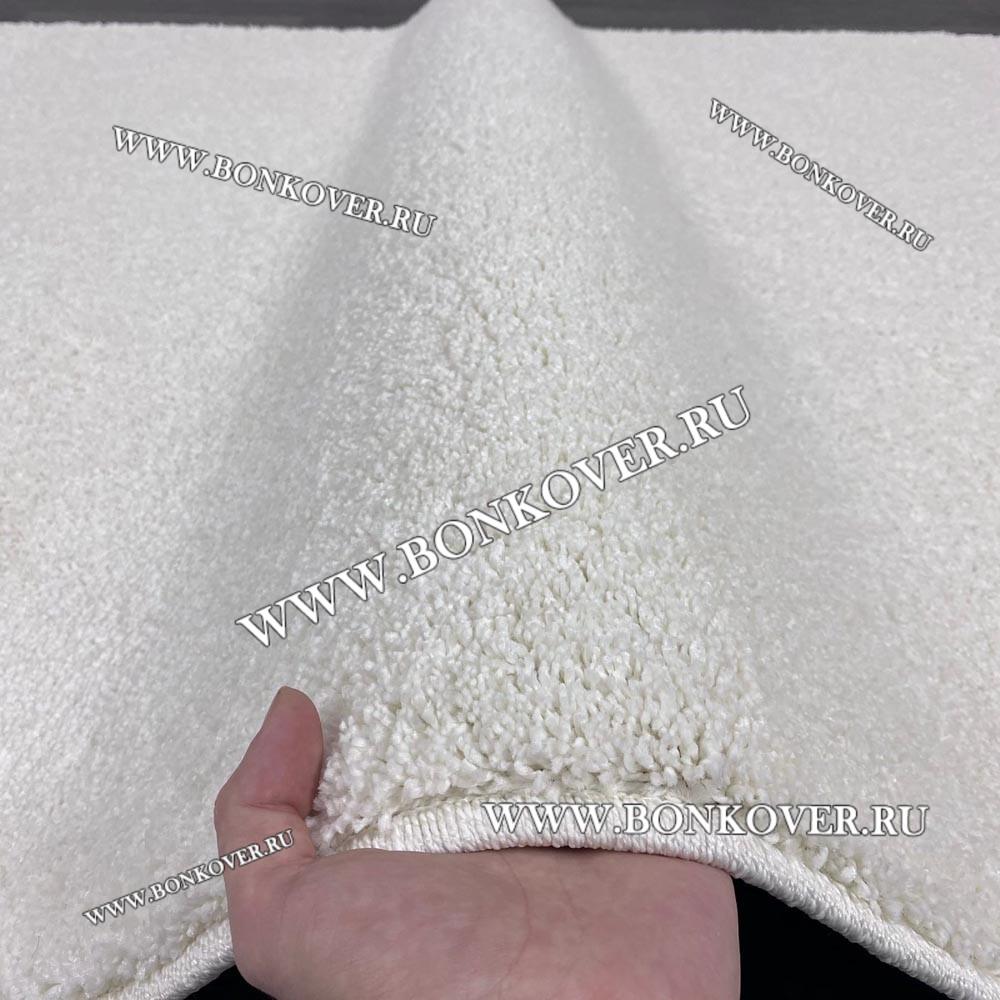 Ковер Comfort New 12 Однотонный Белый Прямоугольный