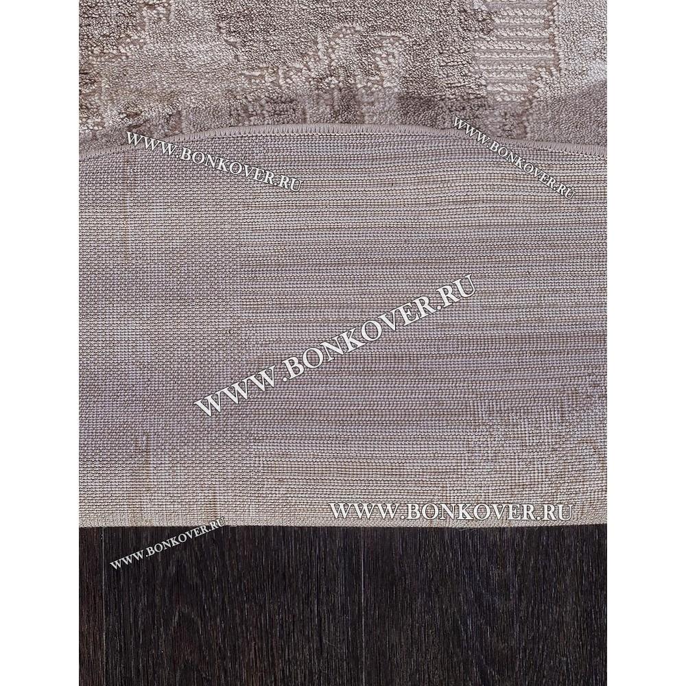 Турецкий Ковер Для Гостиной Дизайн 06 Бежево-Коричневый Овальный
