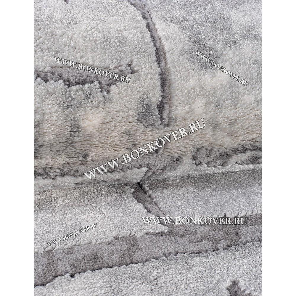 Турецкий Ковер Для Гостиной Дизайн 09 Серый Прямоугольный