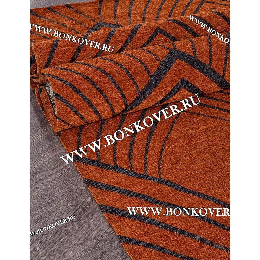 Безворсовый Ковер Лофт Дизайн 20 Оранжевый